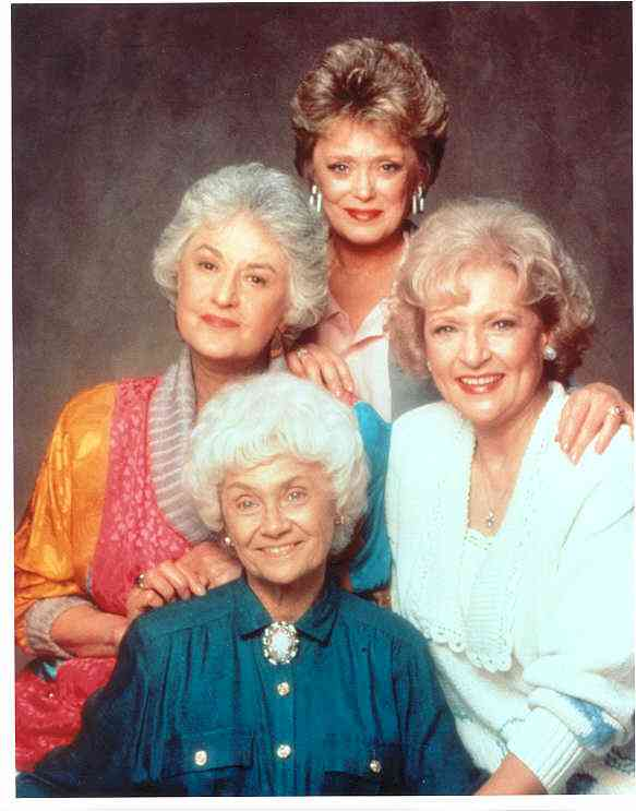 olden girls Clue®: the golden girls the golden girls clue® features a custom illustrated game board, where players attempt to solve the crime of who ate the last piece cheesecake, what they left at the.